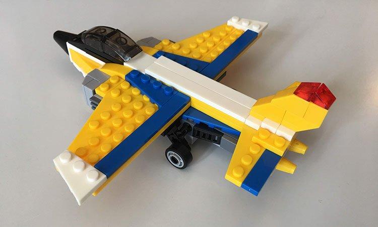 Lego Máy Bay Chiến Đấu - Mô Hình 1_
