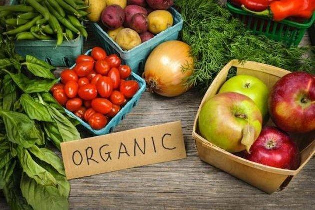 Trái cây, Rau củ không hữu cơ