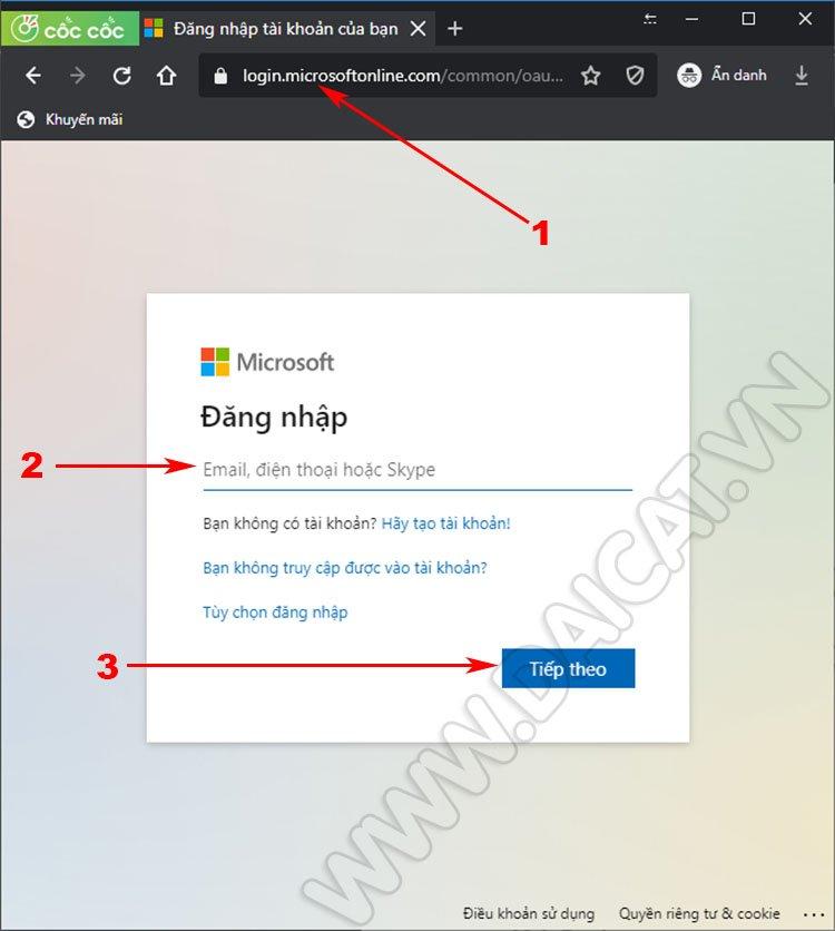 Thao tác kiểm tra dung lượng OneDrive 01