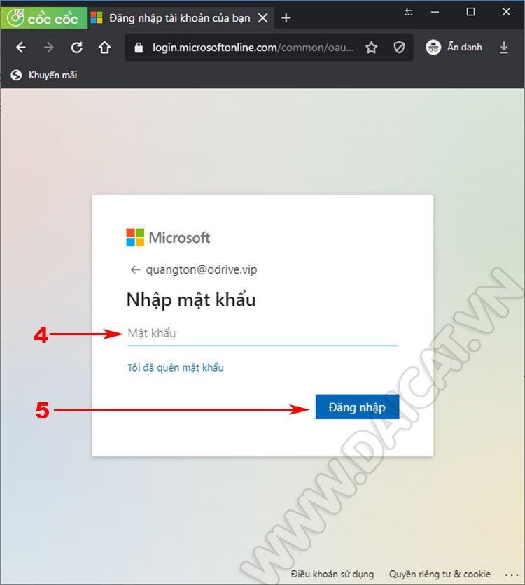 Thao tác kiểm tra dung lượng OneDrive 02